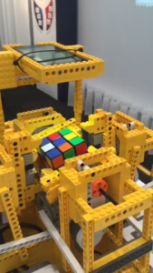 Lego and Rubik's Cube (Medium)